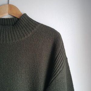 LOFT // Mock Neck Sweater